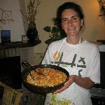 La Fenice-Patrizia con la pasta deliciosa!