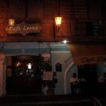 Cafe Leona at night