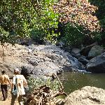 See unterhalb des Wasserfalls