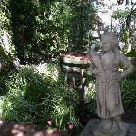 Small Garden Statu