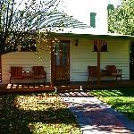 Backyard, Apple Tree Cottage