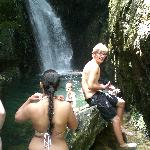 Crystal cascades waterfall swimming hole!