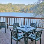 lakeside house deck