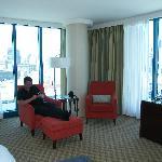 junior suite on 26th floor
