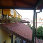 dalla finestra della camera- il terrazzo