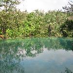 Vue sur une des piscines