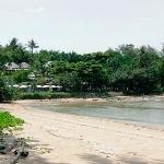 Nakamanda resort view from the beach