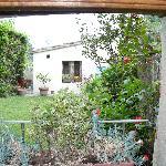 Il giardino, visto dalla camera