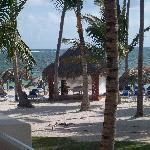 Massage Hut on the Beach - one of three!