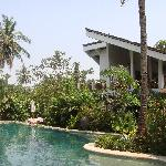 Villa across the Pool