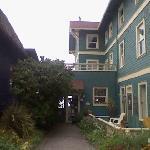 Entrance to Sylvia Beach Hotel