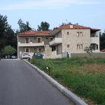 Front of hote from road outside