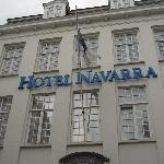 Hotel Navarra - building - Brugge