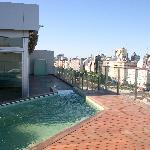 Rooftop Jacuzzi and Gym