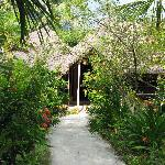 One of the bungalow
