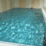 A picture of the swimming pool