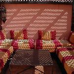 Terrasse bronzette / petit déjeuner