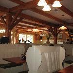 Inside shot of Linda Jean's restaurant