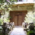 Eingang zum Zimmer