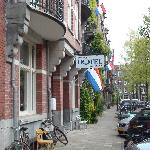 Quite residential street