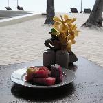 Tropic fruit for breakfast