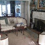 Il soggiorno della casa