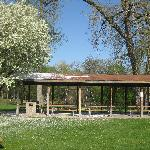 Pavillion in Baumann Park