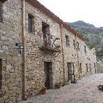 la facciata dell'ex convento