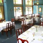 A cool banquet room.