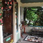 front door/deck