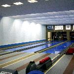 the main bowling track