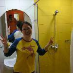 Schoen Gelb im Bad