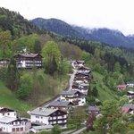 View on the Salzburg Salt Mine Tour near Berchtesgaden, Germany