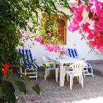 una veranda in cui rilassarsi