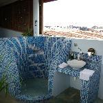 Dunia suite - Shower in open Air bathroom