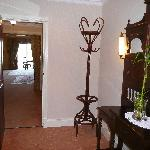 Entry way to the room
