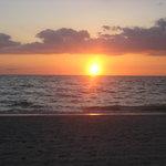 pretty naples sunset