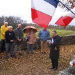 Armistice day memorial (great sash!)