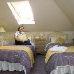 Doppelzimmer Dachkammer