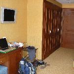 wardrobe area room 405