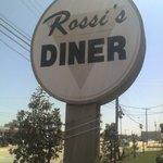 Rossi's Diner Sign