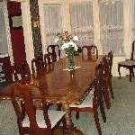 Main dining room.  There is also a tea room for breakfast as well.