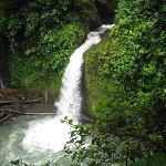 Beautiful waterfall ventured to on horseback!
