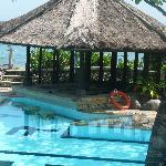 Private suite area pool