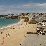 Clean empty beaches