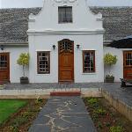 Kronenhoff, front entrance.