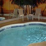 Our heated pool