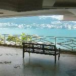 view from lobby of the bay