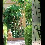 View from our bedroom door