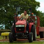 FAncy driving a tractor?